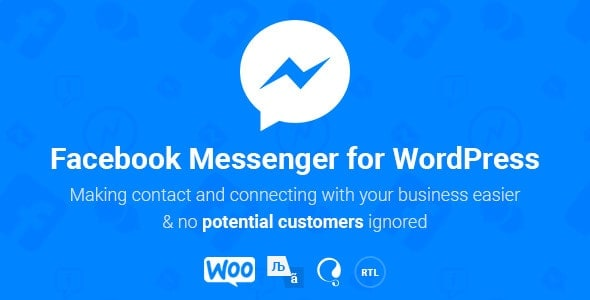 Facebook Messenger for WordPress free